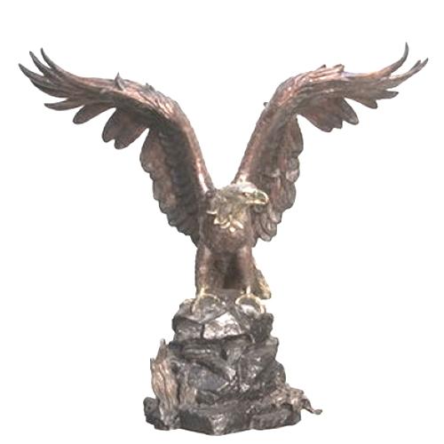 Bronze Eagle Statue - AF 55884
