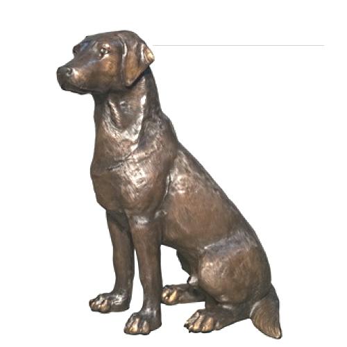 Bronze Labrador Retriever Statue (choice of color) - AF 28768TT