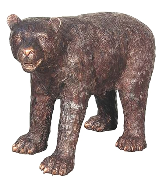 Bear Cub Bronze Statue - AF 57315