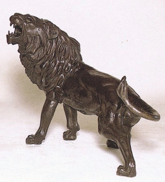 Bronze Lion Statue - ASB 669